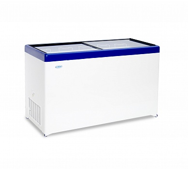 Freezer chest with transparent glass cover MLP-500
