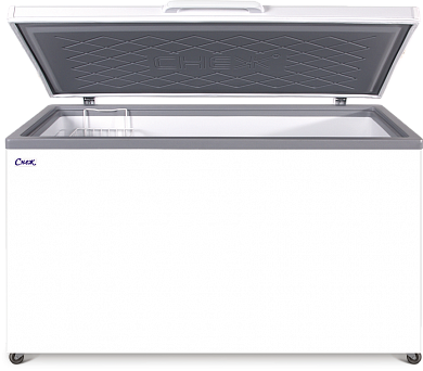 Freezer chest with tight-head cover MLK-500