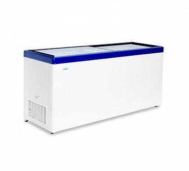 Freezer chest with straight glass MLP-700